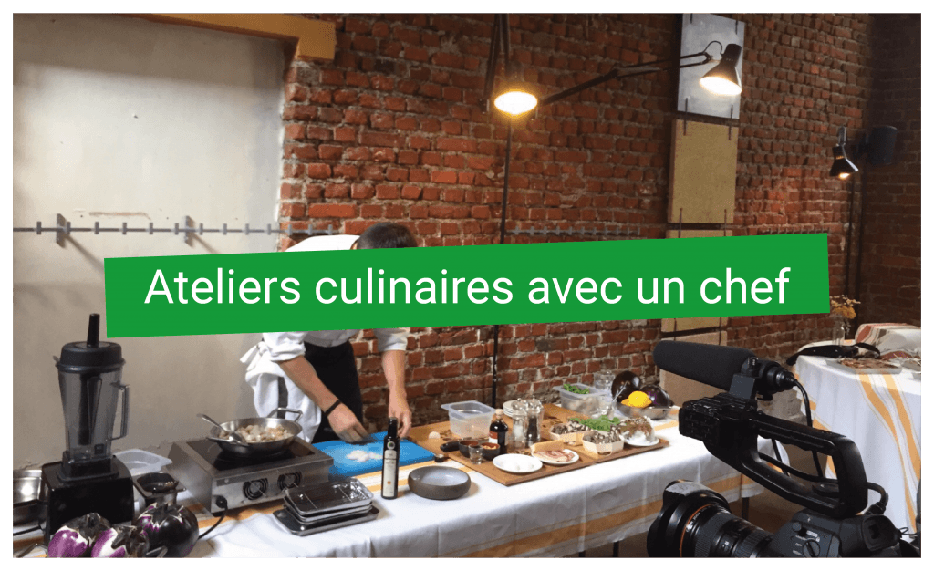 Ateliers Culinaires avecun chef