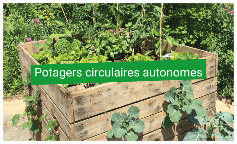Bac potagers circulaires