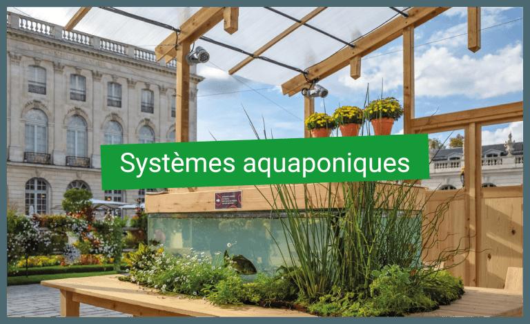Systèmes aquaponiques