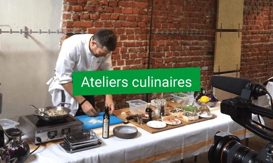 ateliers culinaires avec plancha